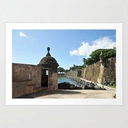 San Juan,fortress Art Print