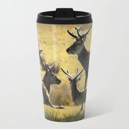 Reindeers of Scotland Travel Mug