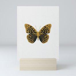 Black Butterfly Mini Art Print