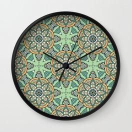 Asha Print Wall Clock