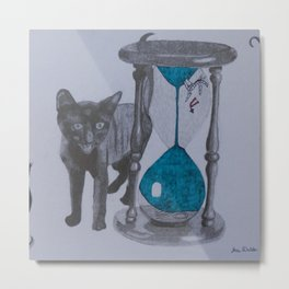 Time is Ticking Metal Print