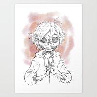 skullnerv Art Print