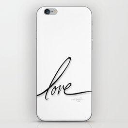 Love No. 2 iPhone Skin