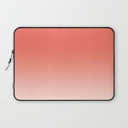 Coral to Peach Laptop Sleeve