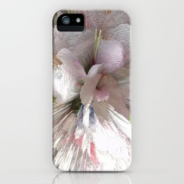 Abstract apple tree iPhone Case