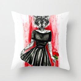 Follow me...darling Throw Pillow