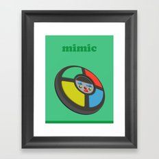 The Mimic Framed Art Print