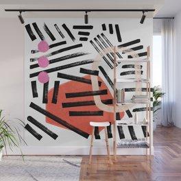 Brush Stroke Study — Hella Abstract Wall Mural