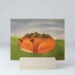 Sleepy Meadow Mini Art Print