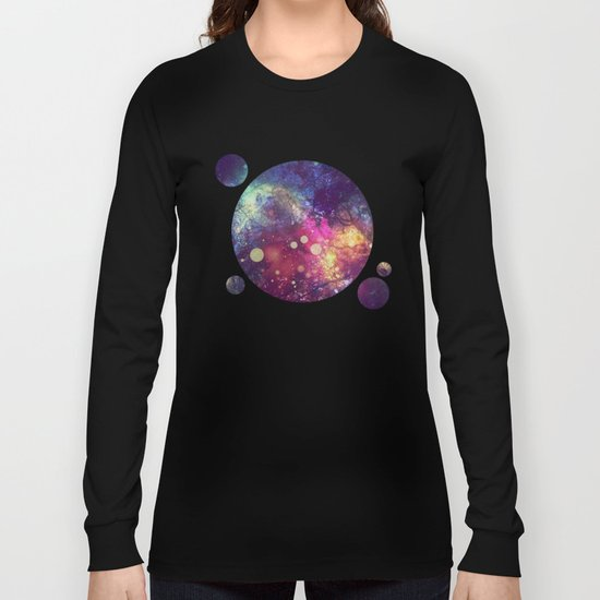The Universe Behind Long Sleeve T-shirt