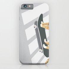 Skateboarding cat iPhone 6s Slim Case