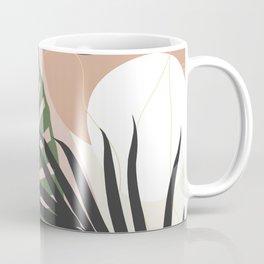 Minimal Jungle Leaves Finesse #2 #tropical #decor #art #society6 Coffee Mug