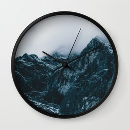Cloud Mountain - Landscape Photography Wall Clock