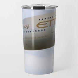Etihad Airlines Airbus A380 Travel Mug