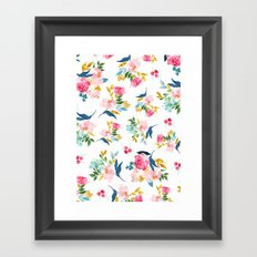 Flower 1717 Framed Art Print
