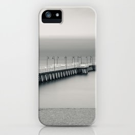 silent pier iPhone Case
