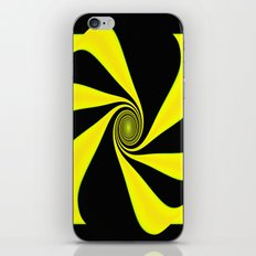 Abstract. Yellow+Black. iPhone & iPod Skin