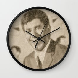 Jerry Lewis by JS Wall Clock