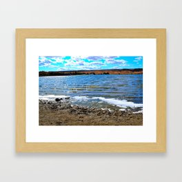 A Day By Soap Lake Framed Art Print