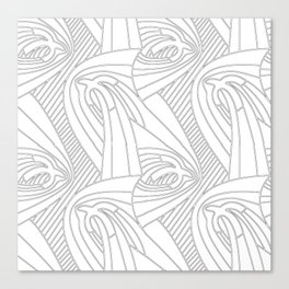 Whitebirds Canvas Print