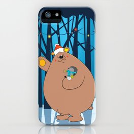 We wish you a Merry Christmas ! iPhone Case