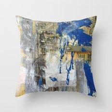 Blue Bird 2 Throw Pillow
