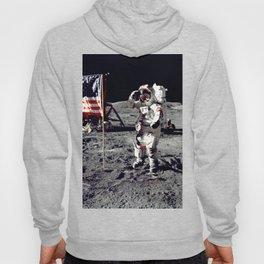 Salute on the Moon Hoody