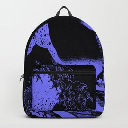 The Great Wave Periwinkle Lavender Backpack
