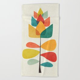 Spring Time Memory Beach Towel