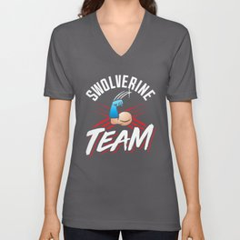 Swolverine Team Unisex V-Neck
