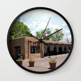 Santa Fe Old Town Square, No. 6 of 7 Wall Clock