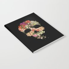 Skull Floral Decay Notebook
