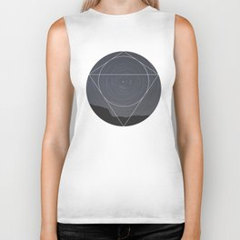 Spinning Universe - Geometric Photography Biker Tank