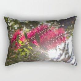 Bottlebrush at the sunset Rectangular Pillow