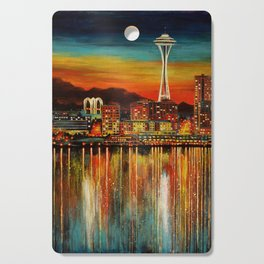Seattle from Alki Cutting Board