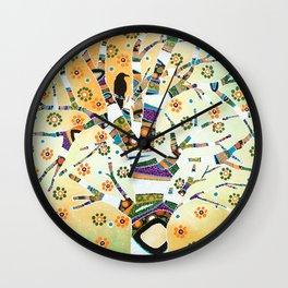 Raven Tree of Life Wall Clock