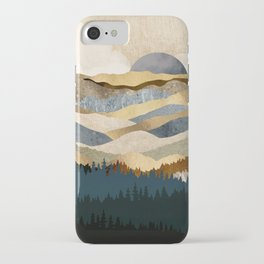 Golden Vista iPhone Case