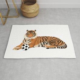 Soccer Tiger Rug