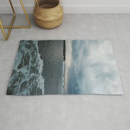 When the waves comes rolling in Rug