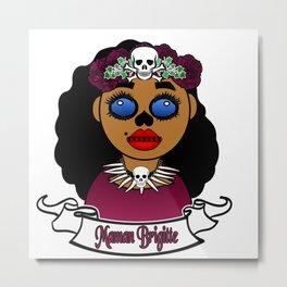 Purple Maman Brigitte Metal Print