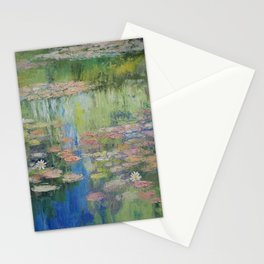 Water Lily Pond Stationery Cards