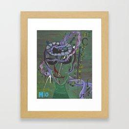 Cosmopolitics Framed Art Print
