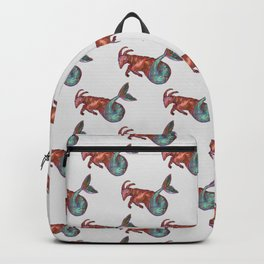 capricorn pattern Backpack