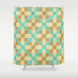 Modern Graphic 08 Shower Curtain
