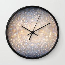 Glimmer of Light Wall Clock
