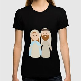 St. Joseph and Virgin Mary T-shirt