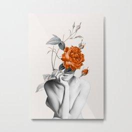 Rose 3 Metal Print