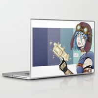 steampunk Laptop & iPad Skins featuring .Steampunk. by Alice