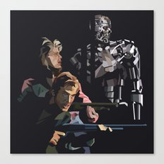 Targeted for Termination (The Terminator) Canvas Print