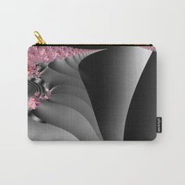 Black and white with embellishments Carry-All Pouch